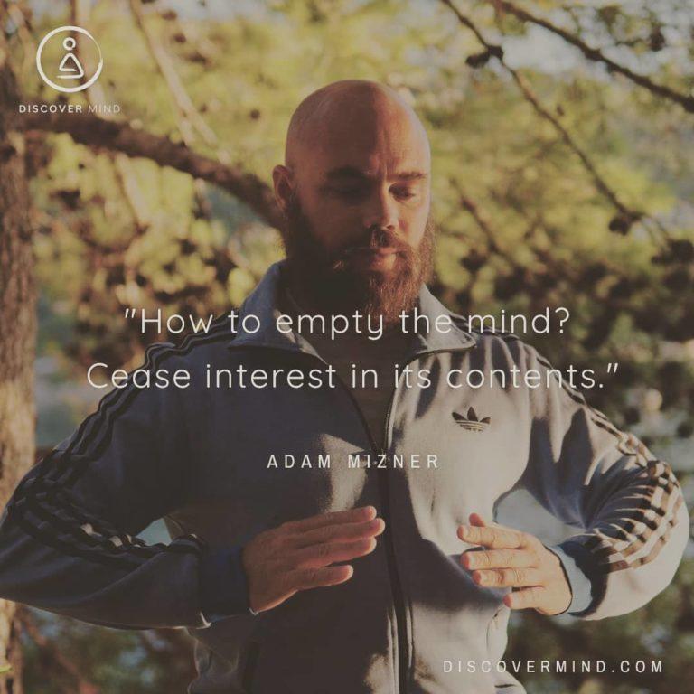 meditation en ligne discover mind
